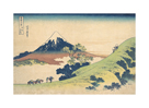 The Inume Pass in Kai Province by Katsushika Hokusai