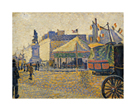Place Clichy by Paul Signac