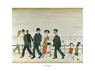 On The Promenade by L.S. Lowry