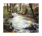The River at Lamorna by Lamorna Birch