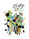 Crazy Zebra by Laure Girardin Vissian