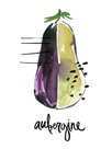 Aubergine by Kelly Ventura