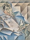 Portrait of Picasso, 1912 by Juan Gris