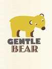 Gentle Bear by Sophie Ledesma