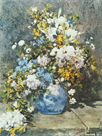 Flower Piece by Pierre Auguste Renoir
