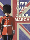 Keep Calm Brit II by The Vintage Collection