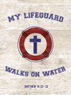 My Lifeguard Walks - Nautical by The Vintage Collection