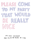 Come to my Party by Kristine Hegre