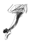 Ballet Sketch by Eva Hjelte