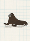 Waddling Walrus by Lisa Stickley
