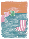 Beach Chairs by Katrien Soeffers