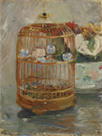 The Cage by Berthe Morisot