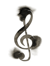 Treble Clef by Kristine Hegre