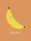 Fruity Friends - Banana by Clara Wells