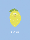 Fruity Friends - Lemon by Clara Wells