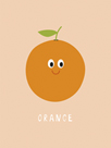 Fruity Friends - Orange by Clara Wells