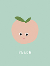 Fruity Friends - Peach by Clara Wells