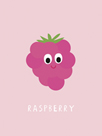 Fruity Friends - Raspberry by Clara Wells