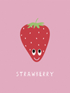 Fruity Friends - Strawberry by Clara Wells