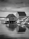 Peggy's Cove by Laura Warren