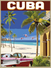 Vintage Travel - Cuba by Mark Chandon
