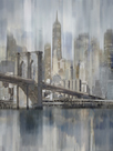 NY Cityscape Hudson River Haze by Paul Duncan