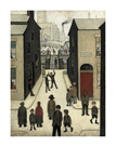The Steps, Irk Place, 1928 by L.S. Lowry