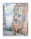The Fourth of July, 1916 by Frederick Childe Hassam