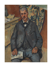 Seated Man, 1889-1900 by Paul Cezanne