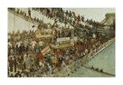 Hammersmith Bridge on Boat Race Day, 1862 by Walter Greaves