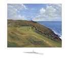 16th at Old Head, Kinsale, Co. Cork by Peter Munro