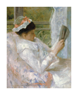 The Reader (Lydia Cassatt) by Mary Stevenson Cassatt