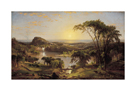 Summer, Lake Ontario by Jasper Francis Cropsey