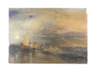 Folkestone From the Sea by J.M.W. Turner