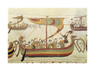 Bayeaux Tapestry Detail B by Anonymous
