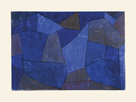 Rocks at Night (Felsen in der Nacht) by Paul Klee