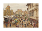 Le Marché, Charlieu by Marie Firmin-Girard