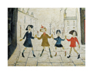 Children Playing by L.S. Lowry