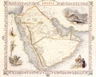 Arabia, 1851 by John Tallis