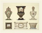 Six Vases by Sevres