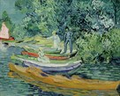 Bank of the Oise at Auvers, 1890 by Vincent Van Gogh
