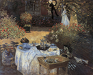 Le Dejeuner by Claude Monet