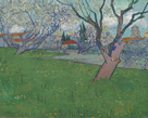 Orchards in Blossom, View of Arles by Vincent Van Gogh