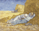 The Siesta (after Millet) by Vincent Van Gogh