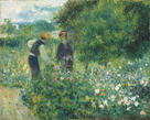 Picking Flowers, 1875 by Pierre Auguste Renoir