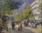 The Grands Boulevards by Pierre Auguste Renoir
