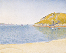Port of Saint-Cast, 1890 by Paul Signac