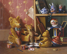 Ted and Friends III by Raymond Campbell