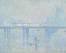 Charing Cross Bridge, 1899 by Claude Monet
