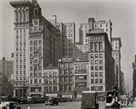 Union Square West, Nos. 31-41, Manhattan by Berenice Abbott